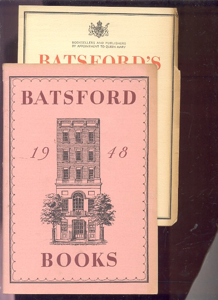 Image for BATSFORD BOOKS  (Catalog with Laid in Advertisement)