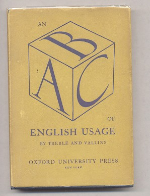 Image for AN A.B.C. OF ENGLISH USAGE
