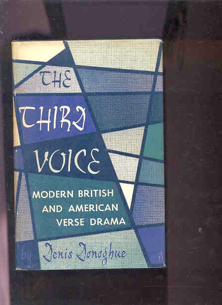 Image for THIRD VOICE: MODERN BRITISH AND AMERICAN VERSE DRAMA