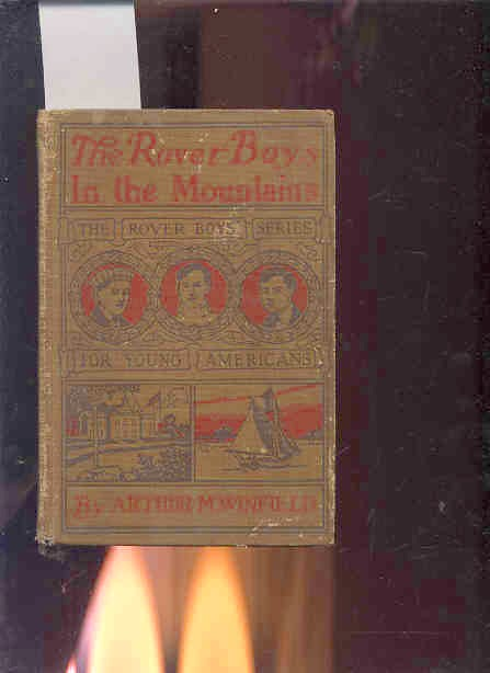 Image for THE ROVER BOYS IN THE MOUNTAINS OR A HUNT FOR FUN AND FORTUNE