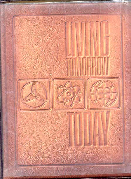 Image for LIVING TOMORROW--TODAY! : THE MAGIC OF NEW SCIENCE AND TECHNOLOGY  (Full Leather in Box)