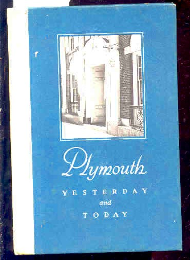 Image for PLYMOUTH YESTERDAY AND TODAY 1803-1953