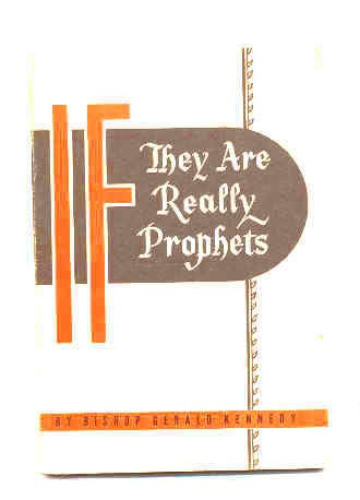 Image for IF THEY ARE REALLY PROPHETS