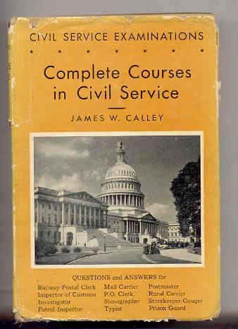 Image for COMPLETE COURSES IN CIVIL SERVICE