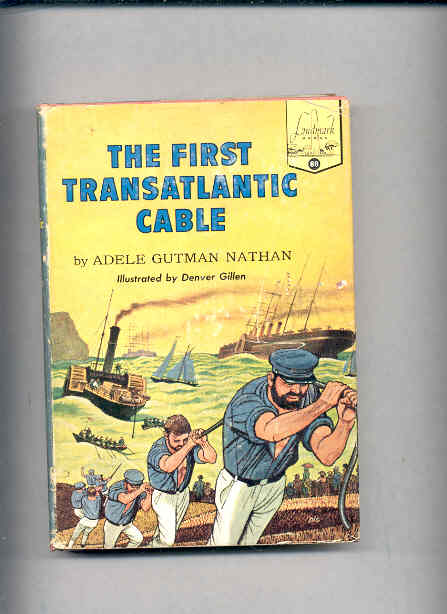 Image for THE FIRST TRANSATLANTIC CABLE