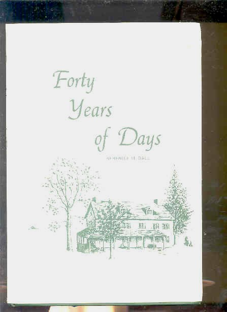Image for FORTY YEARS OF DAYS Ltd 1165/4000