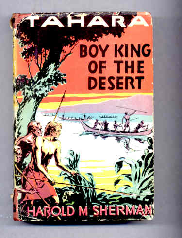 Image for TAHARA, BOY KING OF THE DESERT