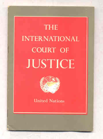 Image for INTERNATIONAL COURT OF JUSTICE, THE