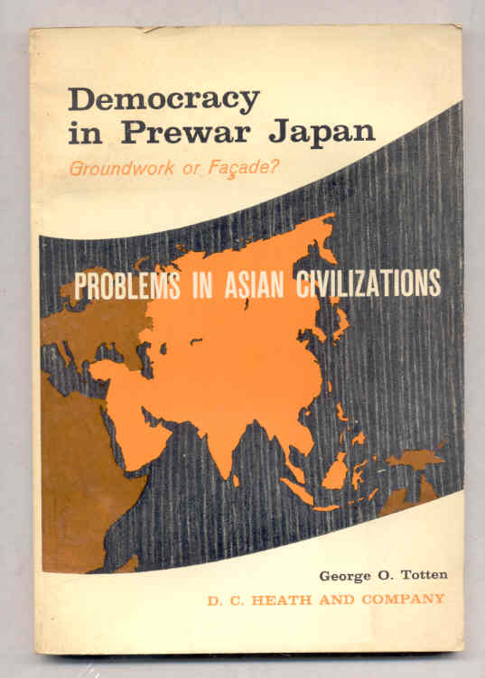 Image for DEMOCRACY IN PREWAR JAPAN GROUNDWORK OR FAÇADE?