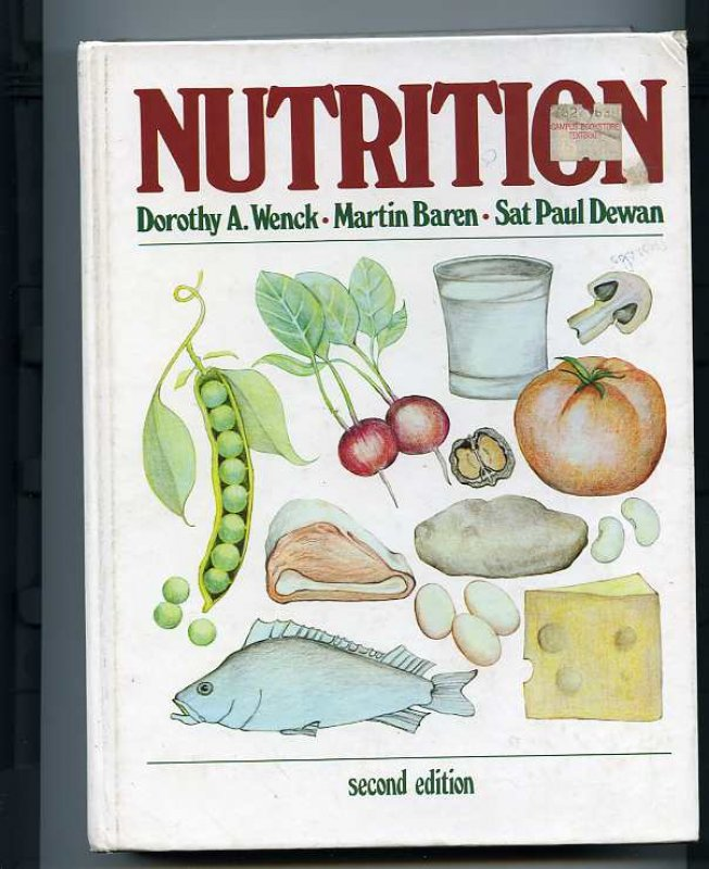 Image for NUTRITION (ISBN: 0835950611)