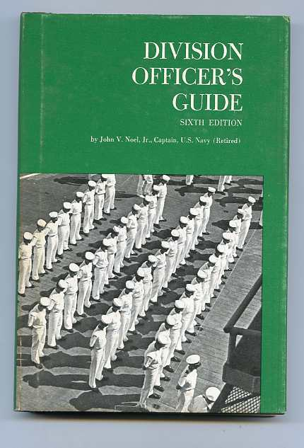 Image for DIVISION OFFICER'S GUIDE - SIXTH EDITION (ISBN: 0870211595)