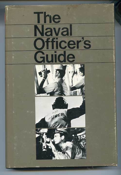 Image for THE NAVAL OFFICER'S GUIDE (ISBN: 0870214322)  Laid in Clipping