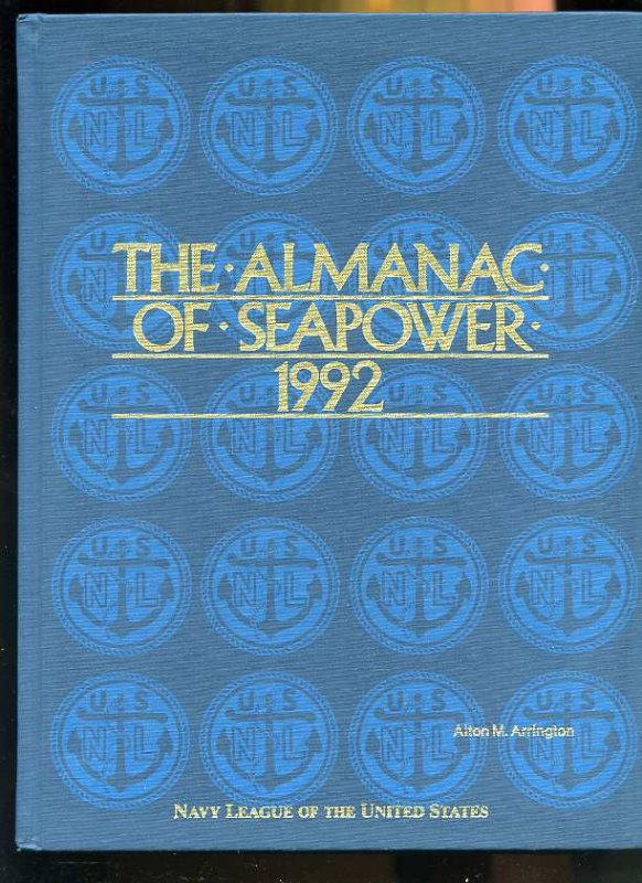 Image for THE ALMANAC OF SEA POWER 1992, 1993, 1994, 1995,