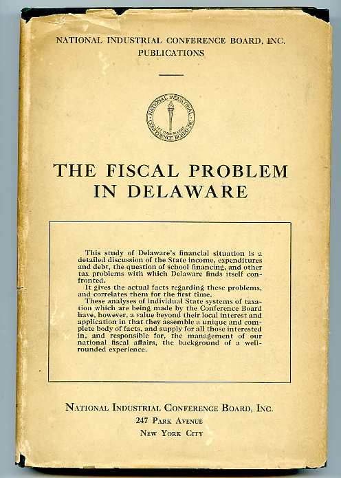 Image for FISCAL PROBLEM IN DELAWARE.