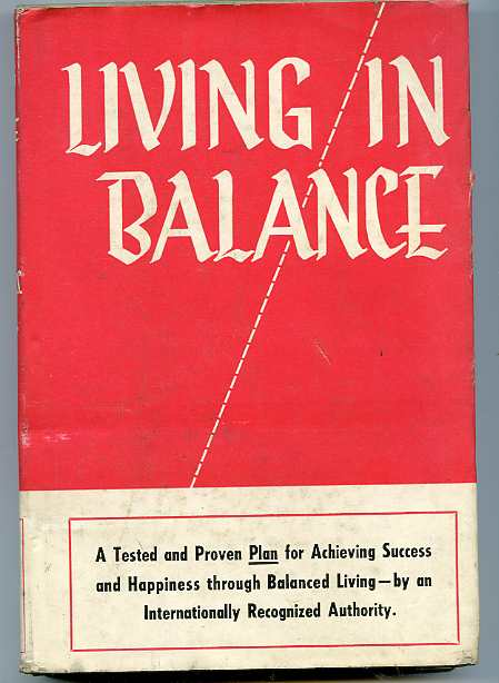 Image for LIVING IN BALANCE  (Filed under 15280)