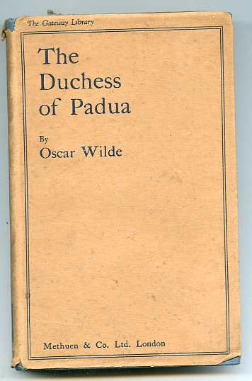 Image for THE DUCHESS OF PADUA