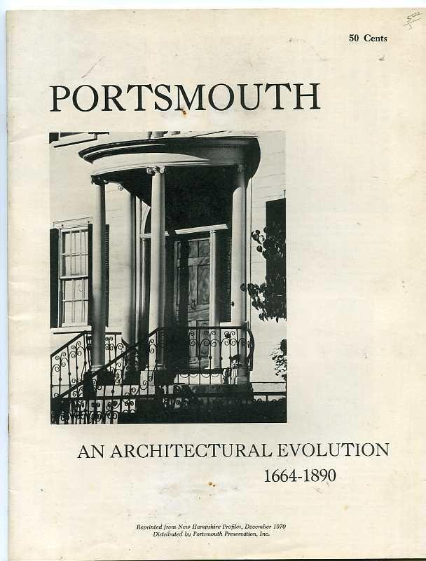 Image for PORTSMOUTH AN ARCHITECTURAL EVOLUTION 1664 - 1890