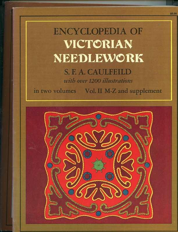 Image for ENCYCLOPEDIA OF VICTORIAN NEEDLEWORK With over 1200 Illustrations (complete in 2 vols