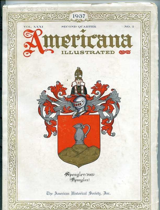 Image for AMERICANA ILLUSTRATED, VOL. 31, NO. 2, SECOND QUARTER APRIL , 1937