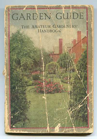 Image for GARDEN GUIDE: THE AMATEUR GARDENERS' HANDBOOK