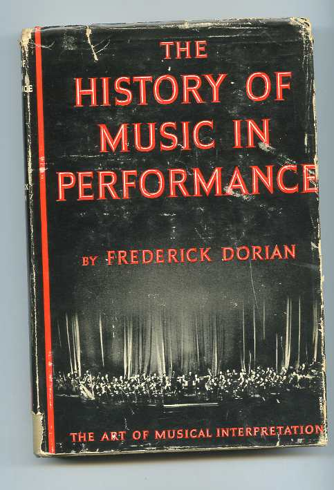 Image for THE HISTORY OF MUSIC IN PERFORMANCE
