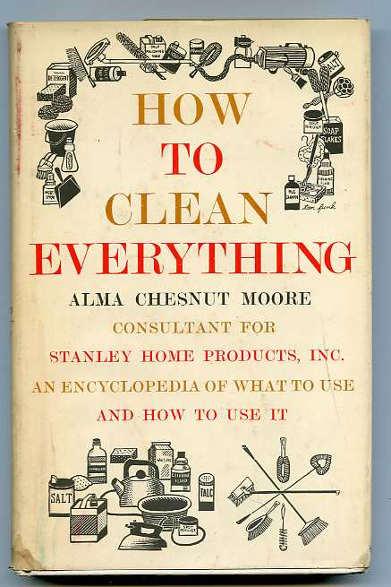 Image for HOW TO CLEAN EVERYTHING (ISBN: 067122705X)