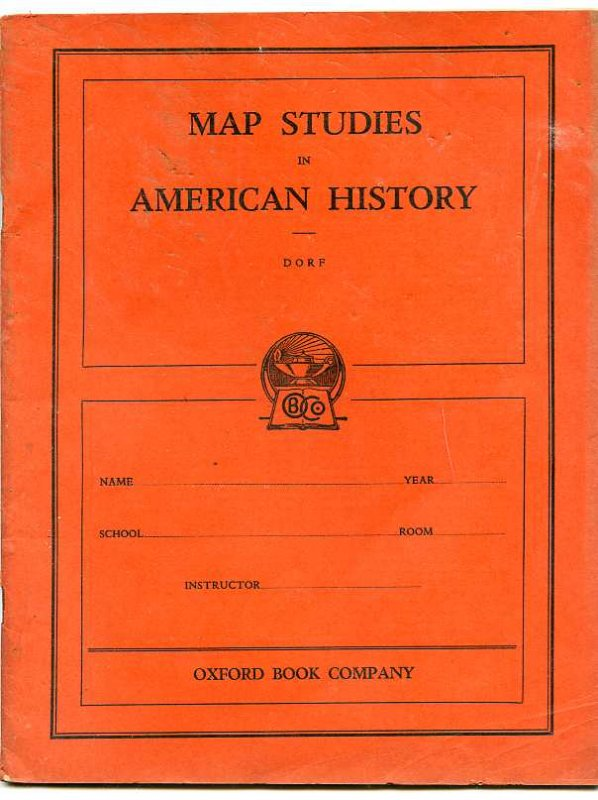 Image for MAP STUDIES IN AMERICAN HISTORY