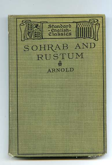 Image for SOHRAB AND RUSTUM (WITH OTHER POEMS)
