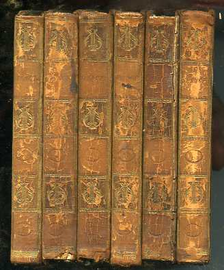 Image for THE POETICAL WORKS OF EDMUND SPENSER (FROM THE TEXT OF MR UPTON)  With the Life of the Author (Vols 1, 4, 5, 8, 6, 7 Being Six Vols of an 8 Vol Set