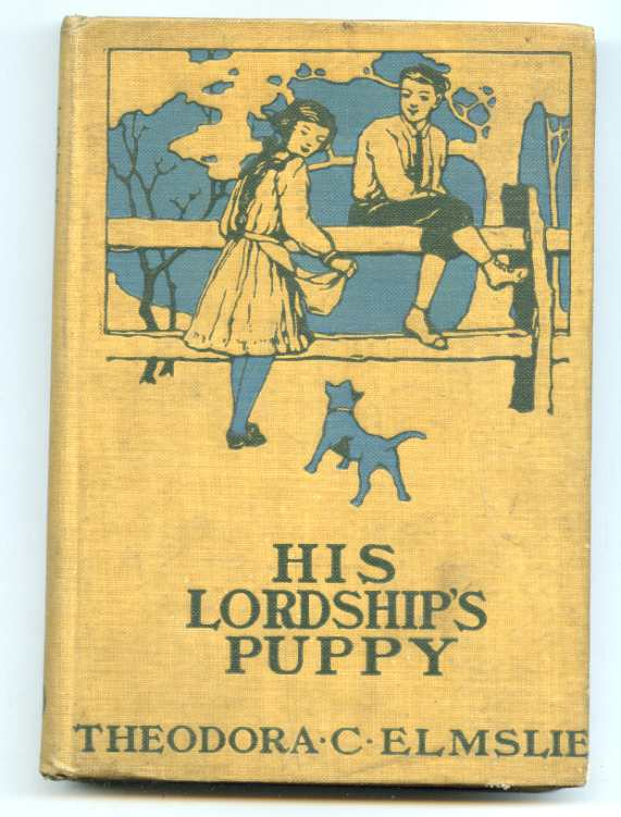 Image for HIS LORDSHIP'S PUPPY.