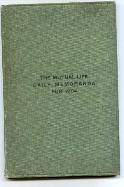 Image for MUTUAL LIFE DAILY MEMORANDA