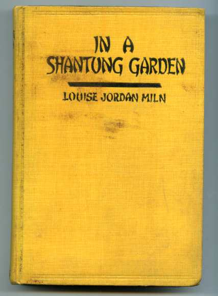 Image for IN A SHANTUNG GARDEN