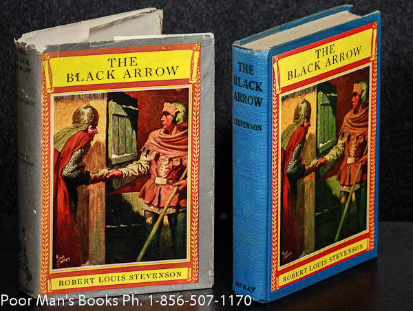 Image for THE BLACK ARROW 1ST ED F872