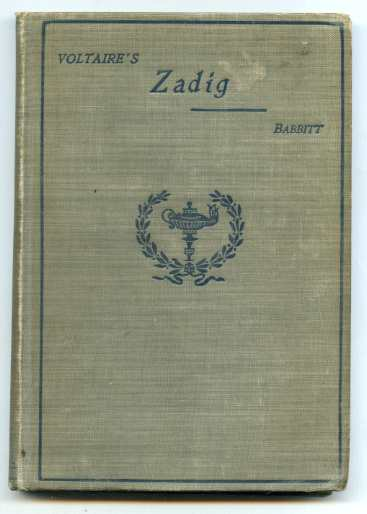 Image for ZADIG AND OTHER STORIES
