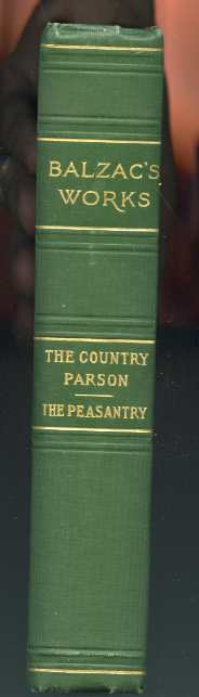 Image for THE COUNTRY PARSON, THE PEASANTRY Saintsbury, George Trans.