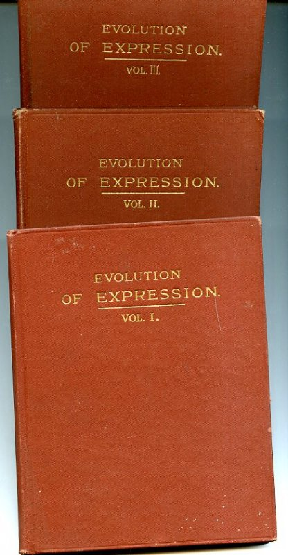 Image for EVOLUTION OF EXPRESSION.  (Vols 1,2,3 of Four Published.
