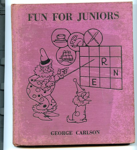 Image for FUN FOR JUNIORS (GAMES, MAZES, STUNTS, PUZZLES, RIDDLES, QUESTIONS, DOT DRAWING)
