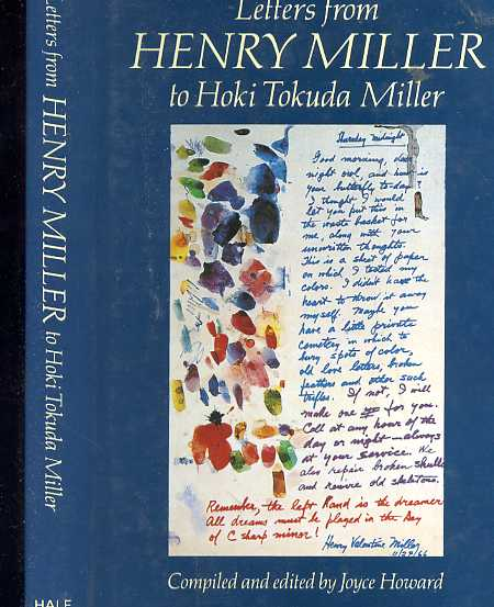 Image for LETTERS FROM HENRY MILLER TO HOKI TOKUDA MILLER (ISBN: 0709040113)