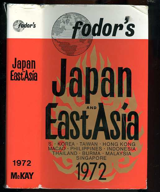 Image for FODOR'S JAPAN AND EAST ASIA 1972