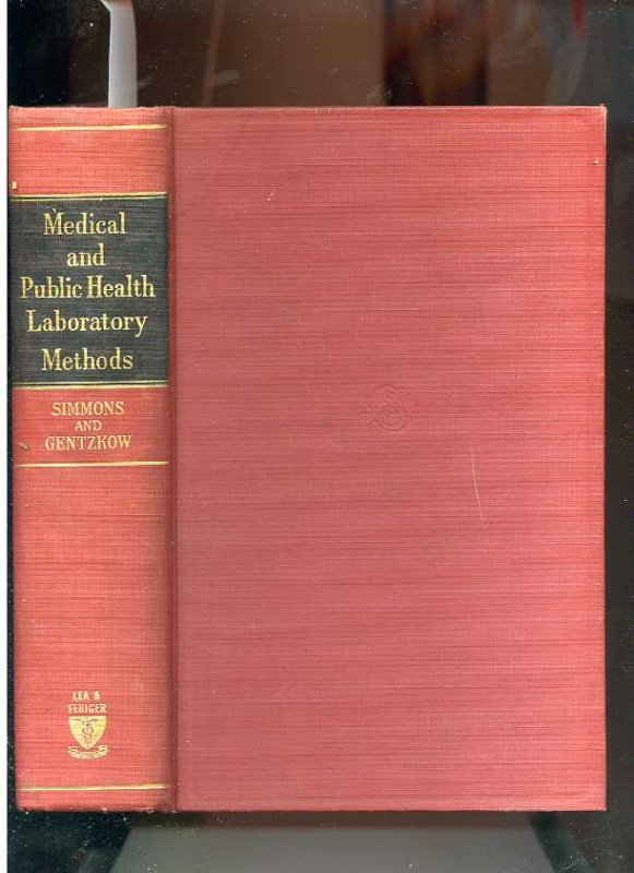 Image for MEDICAL AND PUBLIC HEALTH LABORATORY METHODS
