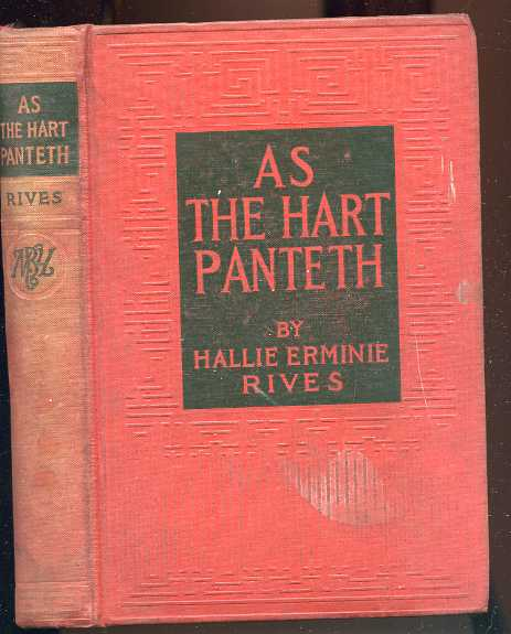 Image for AS THE HART PANTETH