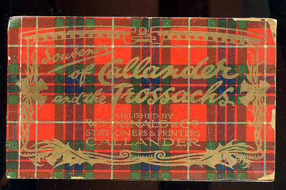 Image for SOUVENIR OF CALLANDER AND THE TROSSACKS