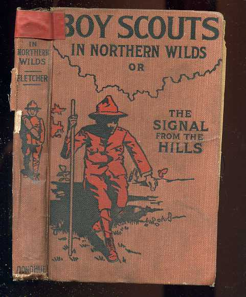 Image for BOY SCOUTS IN NORTHERN WILDS; OR THE SIGNAL FROM THE HILLS