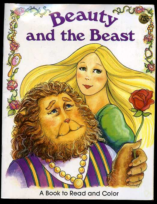 Image for BEAUTY AND THE BEAST A BOOK TO READ AND COLOR