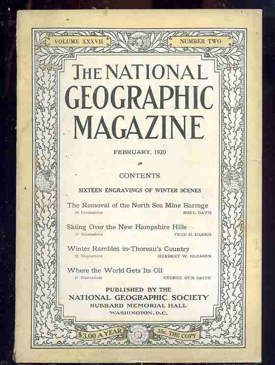 Image for THE NATIONAL GEOGRAPHIC MAGAZINE: VOL.37.NO.2 .FEBRUARY,1920