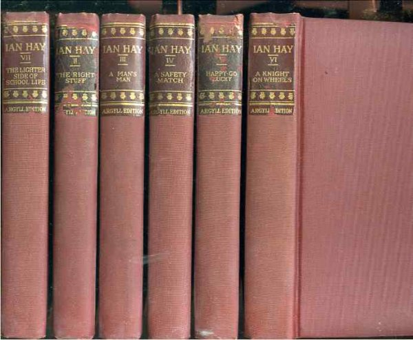 Image for THE WRITINGS OF IAN HAY Argyll Edition. (Complete in Ten Volumes).