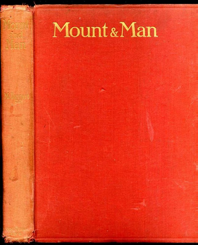 Image for MOUNT AND MAN: A KEY TO BETTER HORSEMANSHIP