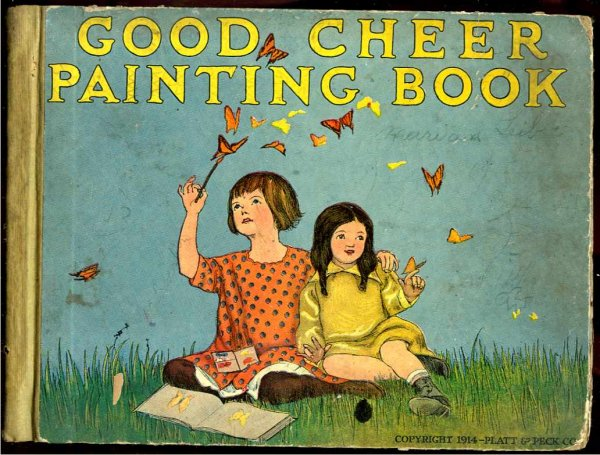 Image for GOOD CHEER PAINTING BOOK. FOR YOUNG PEOPLE WITH EASY DRAWING LESSONS