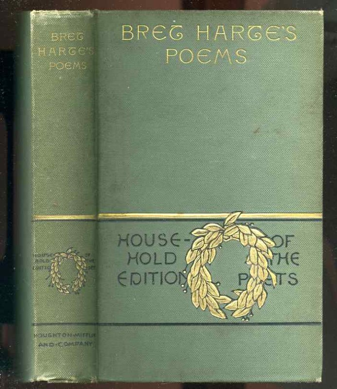 Image for THE POETICAL WORKS OF BRET HARTE
