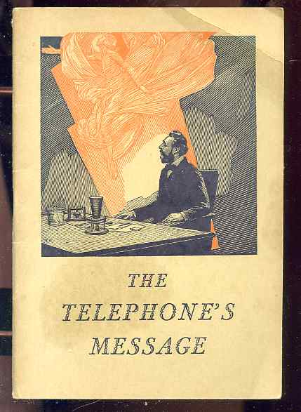 Image for THE TELEPHONE'S MESSAGE